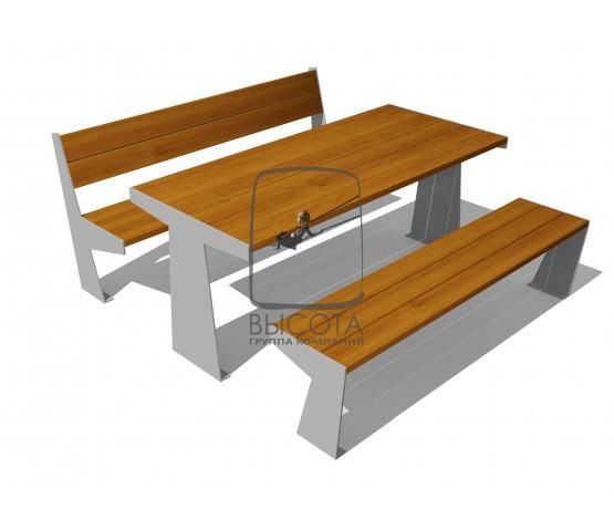 ВСТ 9511/1 Стол с лавками
